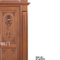 深圳别墅铜门,K025富贵人家,双开铜门,铜盟荟