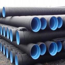 川林管道厂家直销各种规格钢带增强聚乙烯螺旋波纹管