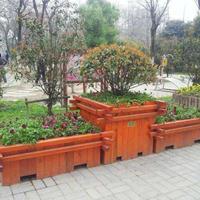 河北ct2405种树花箱花盆供应,定制园林植树花箱花篮