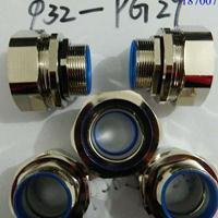 铜镀镍耐腐蚀IP67防水金属软管接头外丝、内丝、弯头PG螺纹