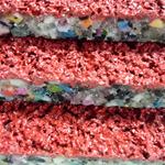 塑胶跑道 透气型 复合型 混合型 全塑型塑胶跑道材料