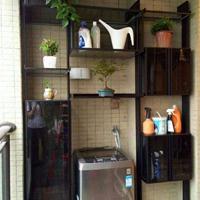 佛山雷诺帝娅阳台柜订制效果图,阳台柜装修效果