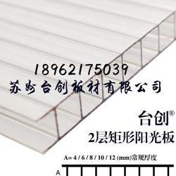 供应徐州铜山10mm四层温室阳光板