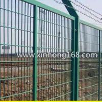 鑫鸿 桃型柱护栏网 框架护栏网 公路护栏网 高速公路护栏网
