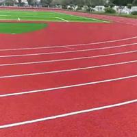 混合型塑胶跑道 硅PU篮球场材料 丙烯酸球场施工 人造草坪价格