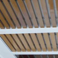 木纹铝方通天花 铝方通天花颜色挑选方法
