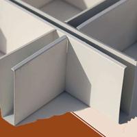 各种铝合金吊顶 格栅吊顶批发,条形吊顶 铝格栅规格价格