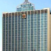 楼顶不锈钢塔,大楼通信工艺塔,大厦景观塔