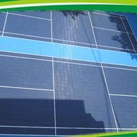 塑胶地板 拼装地板网球场地板