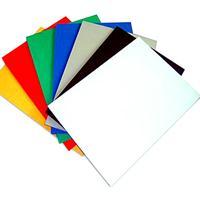 厂家生产15mm 白色环保 高密度PVC结皮发泡板PVC相册板安迪板