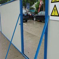 专业制作 彩钢板围墙 市政道路施工围墙围护 夹芯板围墙 厂家直销