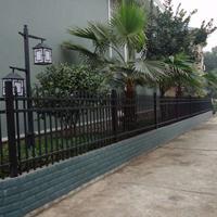 现货供应锌钢栅栏,锌钢院墙围栏栅栏,厂家直销
