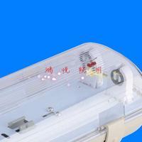 防水防潮LED三防灯0.6米单管1.2米双管码头防腐蚀LED工厂灯