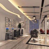 成都理发店装修设计,成都理发店设计
