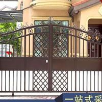 东莞不生锈别墅门,特殊烤漆工艺,质保20年