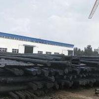 厂家直销防腐油木杆6米7米8米10米河北恒天