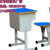 河南小学生单人课桌椅批发】――课桌椅厂家供应