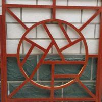 仿古別墅鋁窗花,仿古鋁合金格花定制廠家
