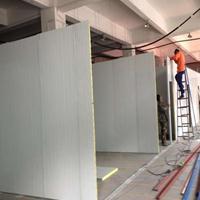 专业彩钢板隔墙 夹芯板高隔断 岩棉板室内厂房隔断 厂家直销
