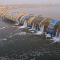 橡胶坝产品结构及尺寸