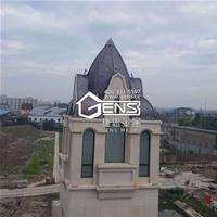 (GENS)捷思北京纯铜金属平板屋面瓦,100多种表面处理工艺