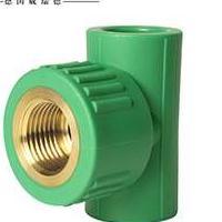 20 25 32 厂家直销 绿色PPR内牙内丝三通