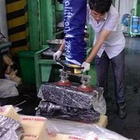 汉尔得橡胶块搬运吊具、立柱悬臂式轨道系统、