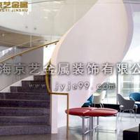 供应京艺钢结构楼梯、精品玻璃楼梯定制、大型旋转楼梯