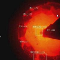 高温炉内视频红外测温仪