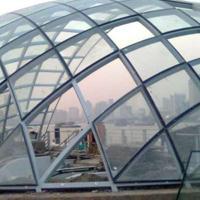 球形双曲面弯钢化中空夹胶玻璃