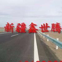 新疆塔城波形梁护栏 高速公路路边防撞护栏 乡村公路防护栏