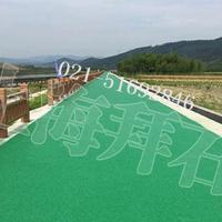 供应台州透水砼胶结料/上海胶粘石透水地坪施工