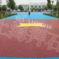 供应台州彩色透水地坪/上海彩色透水砼配合比