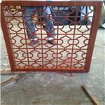香港代理厂家专业生产民国格子风格铝窗花