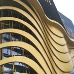 广州厂家专业生产商场,酒店,展览厅造形弧形铝方通