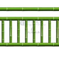 1.8米仿竹护栏模具