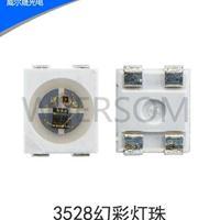 P9411-3528RGB内置IC幻彩灯珠 金线铜支架,全套三安芯片