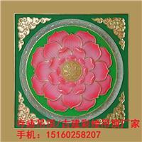 藏式建筑佛堂古建奢华别墅天花吊顶替代彩绘佛事用品彩绘天花吊顶