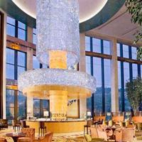 酒店餐厅水晶吊灯非标定制【孙氏照明】