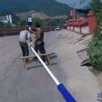 山东东营厂家直销太阳能路灯农村路灯灯杆灯具庭院灯5米6米现货