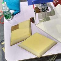 供应北京会展海绵打磨机 软包背景墙海绵修边机 海绵异形倒角机
