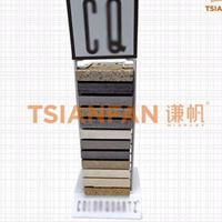 石材双排台面展示架子,厂家直销,台面板展示架,SR036-1