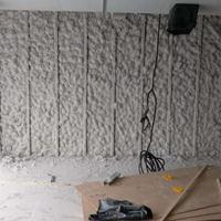 无机纤维喷涂棉的工程使用
