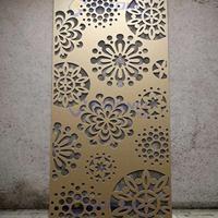 连锁万达营销中心户外墙面雕花镂空铝单板造型拼接氟碳漆喷涂