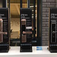 ZTE中兴智能锁636 杭州指纹锁 密码锁 联网型 银色
