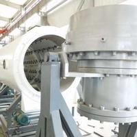 华仕达专业制造PE全系列真空定径法保温管设备