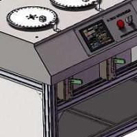 高柔性拖链电缆扭转弯曲试验机(机器人柔性拖链电缆扭转试验机)