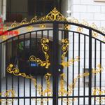 定制別墅鐵藝大門庭院門來電訂制體現個性化自我風格