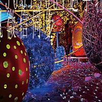 艺术灯光节展览效果策划、用材、制作厂家出租出售