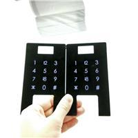 亚克力数字键茶色半透 PC触控标牌 控制面板